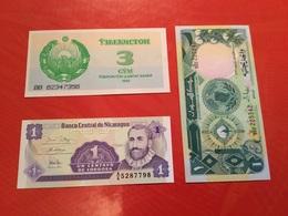 LOT DE 3 Billets Neuf - Lots & Kiloware - Banknotes