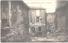 FR66 ANSIGNAN - Brun 1332 - La Poste - Animée - Belle - France