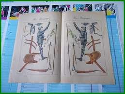 MON JOURNAL RECUEIL POUR ENFANTS N° 35 MAI 1909 RARE DECOUPAGE JEANNE D'ARC BELLES GRAVURES DONT BERTIN - Libros, Revistas, Cómics