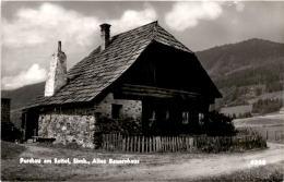 Perchau Am Sattel, Stmk. - Altes Bauernhaus (4268) * April 1962 - Neumarkt