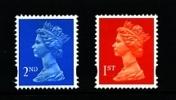 GREAT BRITAIN - 1993  MACHIN  2nd+1st  LITHO MINT NH  SG X1670+X1671 - 1952-.... (Elizabeth II)