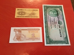 LOT DE 3 Billets Neuf - Coins & Banknotes
