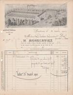 Bordeaux - H.Monserviez - 1912 - Instruments Viticoles - 1900 – 1949