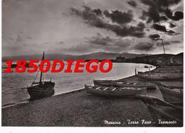 MESSINA - TORRE FARO TRAMONTO  F/GRANDE  VIAGGIATA - Messina