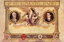 2° REGGIMENTO RADIO VOLTA MARCONI FIRENZE PIACENZA VARESE VENEZIA 1930/40 Ca - Como
