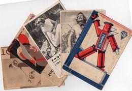 5 Pochettes Vides Pour Photos -état Moyen  Voir Scannes Recto Verso - Matériel & Accessoires