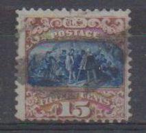 USA 1869 Columbus 15c Used (38796) - 1847-99 Algemene Uitgaves