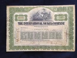 The International Nickel Company - G - I