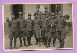 Foto Di Gruppo Militare  (Verona 3-5-1931) - MIL191 - War, Military