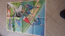 Supplement Poster Au Magazine Spirou Numero 1731   Format Deplie 44x60 Cm The Thunderbirds - Spirou Magazine