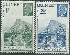 Guinea Francesa 176/177 * Charnela. 1941 - Guinea Francesa (1892-1944)