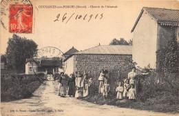 55 - MEUSE / Cousances Aux Forges - 551455 - Chemin De L'abattoir - Beau Cliché Animé - France