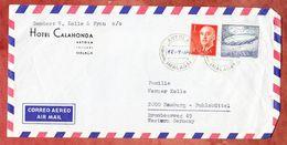 Luftpost, MiF Unterseeboot U.a., Artola Nach Hamburg, Stempel-Datum Hds Ergaenzt, 1964 (51413) - 1931-Heute: 2. Rep. - ... Juan Carlos I