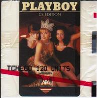 """Mint C18. Playboy II; Chip SC4; Blister With Printing """"TCHECO 120 UNITS"""" - Czechoslovakia"""