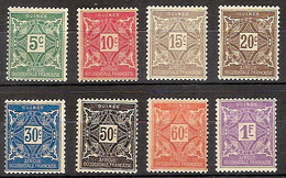 Guinea Francesa Tasas 16/23 * Charnela. 1914 - Guinea Francesa (1892-1944)