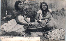 AMERIQUE --  Mexique -- Oaxaca - Venderas De Cebollas Onion Sellers - Mexico