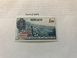 Monaco Monaco Lawn Tennis Federation Mnh 1977 - Unused Stamps