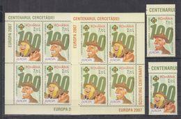 B20. MNH Romania Famous People Sir Robert Baden Powell 1857-1941 - Famous People
