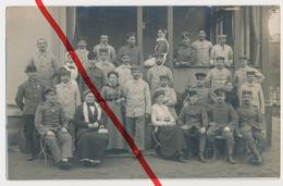 Original Foto - Lazarett In Naumburg - März 1915 - Deutsche Und K.u.k.-Uniformen - Scharfe Detailreiche Aufnahme - Naumburg (Saale)