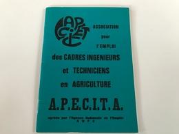 Association Pour L'emploi Des CADRES INGENIEURS Et TECHNICIENS En AGRICULTURE - 1976 - Sciences