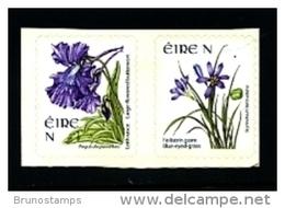 IRELAND/EIRE - 2007  N  FLOWERS  SELF-ADHESIVE  SET  MINT NH - 1949-... Repubblica D'Irlanda