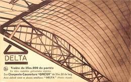 Charpente Couverture Oméga, Constructions Métalliques Bourleau Delta - Braine-le-Comte