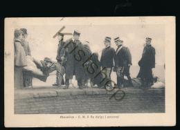 Messina 1908 - S.M. Il Re Dirige I Soccorsi [ FG 104 - Non Classés