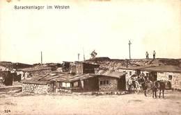 Barackenlager Im Westen (animation, Attelage, Feldpost 1916) - Oorlog 1914-18