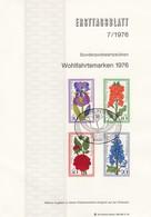 GOOD BERLIN ETB 1976 - FLOWERS - [5] Berlin