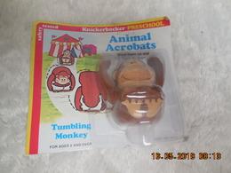 KNICKERBOCKER ANIMAL ACROBAT..TUMBLING MONKEY..SINGE ACROBATIQUE..NEUF..RARE.VINTAGE - Figurines