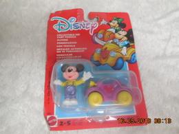 JOUET VINTAGE MATTEL 1990 VEHICULE MICKEY..NEUF - Disney