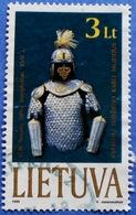 LITHUANIA LIETUVA 3 Lt 1999 SUIT OF ARMOR Mic: 713 - USED - Lithuania