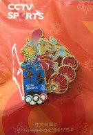 Pyeong Chang Winter Olympics 2018. Chinese CCTV SPORTS, In Its Original Packaging ONLY ONE Available - Olympic Games