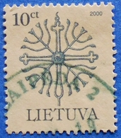 LITHUANIA LIETUVA 10 Ct 2000 FORGED TOPIC Mic: 717 - USED - Lithuania