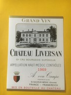 8228 - Château Liversan 1969 Haut Médoc - Bordeaux