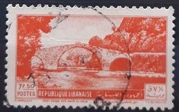 LIBANO 1950 Bridges. USADO - USED. - Lebanon