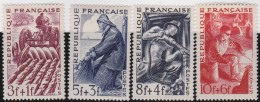 Frankrijk    .   Yvert     .   823/826     .    **      .     Postfris    .    /    .    MNH - France