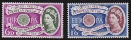 Engeland     .   Yvert     .   357/358   .    **      .     Postfris    .    /    .    MNH - 1952-.... (Elizabeth II)