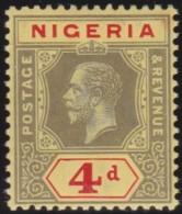 Nigeria       .  SG      .   6 E     .    **      .     Postfris    .    /    .    MNH - Nigeria (...-1960)