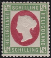Heligoland      .   Michel     .    8F  ( 2 Scans )    .    **      .     Postfris    .    /    .    MNH - Heligoland