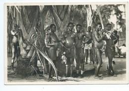 """C. ZAGOURSKI """"L'Afrique Qui Disparait  - 50 - Province De L'Equateur - Parmi Les M'Bouaka ( Filles Seins Nus ) - Süd-, Ost-, Westafrika"""