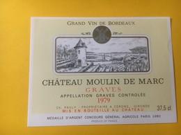 8236 - Château Moulin De Marc 1979 Graves - Bordeaux