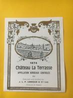8240 - Château La Terrasse 1974 - Bordeaux