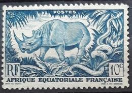 A.E.F. 1947 Local Motives. USADO - USED. - Usados