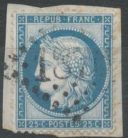 Lot N°42604  N°60/fragment, Oblit GC 1870 Jauziers, Basses-Alpes (5), Ind 17 - 1871-1875 Ceres