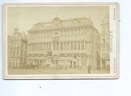 Bruxelles Grand'Place ( Photo Avant 1900 ) Format 17 Cm / 11 Cm - Antiche (ante 1900)