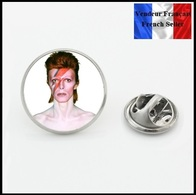 Pins Pin's NEUF ! David Bowie ( Ref 2 ) Diamètre 1,6 Cm - Muziek
