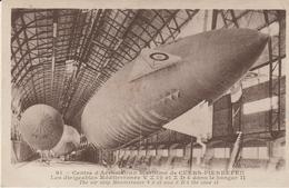 Cuers-pierrefeu - Les Dirigeables Méditerranée Dans Le Hangar..... - Cuers