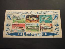 MONTSERRAT - BF 1971 AEREI - NUOVO(++) - Montserrat