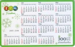 Mobilecard Thailand - 12Call - Kalender 2005 - Thaïland
